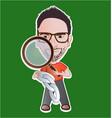 examiner vector image