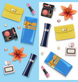 female accessories double set 4 vector image