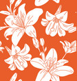 floral seamless pattern4 vector image vector image