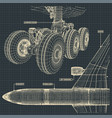 jet airliner drawings vector image vector image