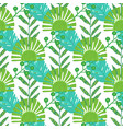 nature seamless pattern hand drawn abstract vector image