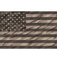 patriotic desert tan camo usa flag vector image vector image