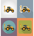 transport flat icons 35 vector image vector image