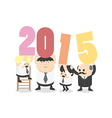 Welcome 2015 vector image vector image
