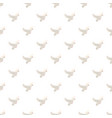 white pigeon pattern vector image vector image