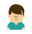 young boy child people character male vector image vector image