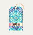 tag for diwali sale banner discount vector image