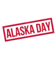Alaska Day rubber stamp vector image vector image