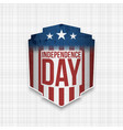 american independence day celebration background vector image vector image