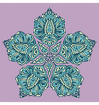 Elegant abstract pattern vector image