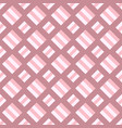 geometrical square pattern background - design vector image vector image