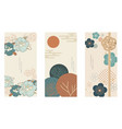 japanese background with asian traditional icon vector image vector image