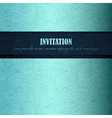 Sea theme invitation vector image vector image