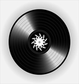 Vinyl records realistic vinyl design old design vector image