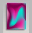 volumetric gradient poster vector image vector image