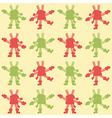Background dancing snowflakes vector image