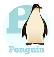 ABC Cartoon Penguin vector image vector image
