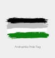 androphilia lgbt watercolor flag vector image vector image