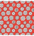 Doodle flowers pattern vector image vector image