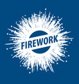 Logo for fireworks