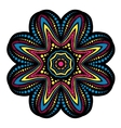 Mandala tribal ethnic ornament vector image vector image