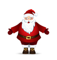 Merry Santa Claus vector image vector image