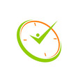 success time management vector image vector image