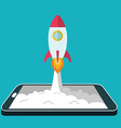 Start up business concept for mobile app vector image