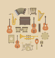 160music instrument vector image