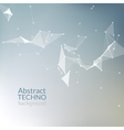 Abstract background Futuristic style card vector image