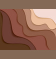 abstract topography concept design or flowing vector image vector image