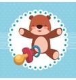 Baby Shower design vector image vector image