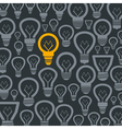 Background a bulb2 vector image vector image