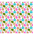 beautiful easter egg seamless pattern background vector image vector image