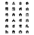 Building Icons 1 vector image