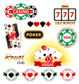 Casino emblems vector | Price: 1 Credit (USD $1)