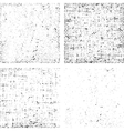 Collection of dirt grunge texture overlay any vector image vector image