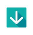 download icon arrow down down vector image vector image