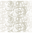 Elegance Seamless pattern with flowers roses flor vector image
