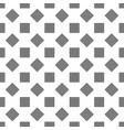 seamless monochrome diagonal square pattern vector image vector image
