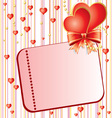 Valentins Day card vector image vector image