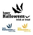 Happy Halloween Sticker vector image