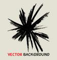 black sunbusrt marker texture background vector image vector image