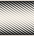 diagonal halftone stripes seamless pattern vector image vector image