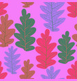 leaves nature pattern vector image vector image