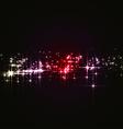 Magic Christmas Stars vector image vector image