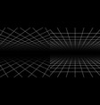 perspective grids geometric lines 3d effect vector image