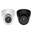 realistic 3d ip video camera security surveillance vector image