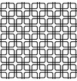 seamless abstract monochrome grid pattern vector image vector image