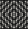 black and white seamless pattern in ethnic style vector image vector image